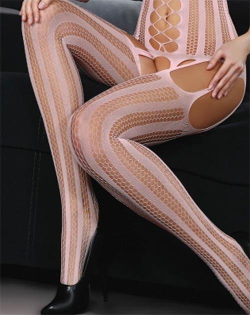 Romantické růžové erotické prádelko