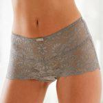 Průsvitné krajkové dámské boxerky