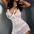 Košilka Livco Corsetti Inez + tanga bílá