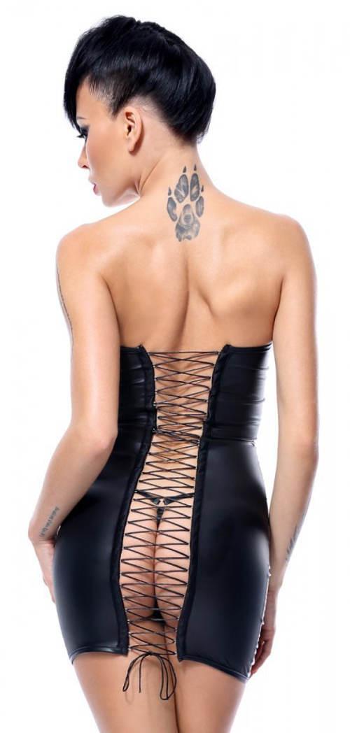 Svůdné dámské šaty na striptýz