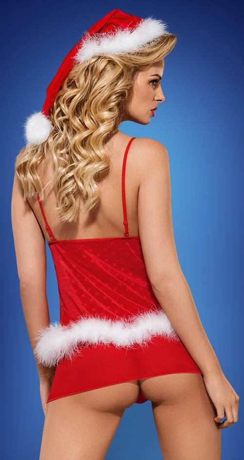 Dámský Santa Clausovský kostým