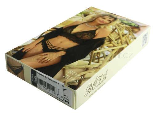 Podprsenka je zabalená v elegantní krabičce