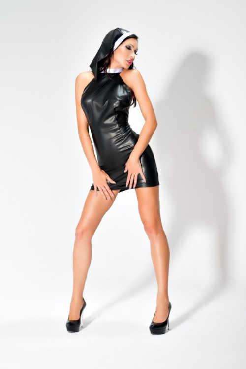 erotický dámský kostým jeptiška