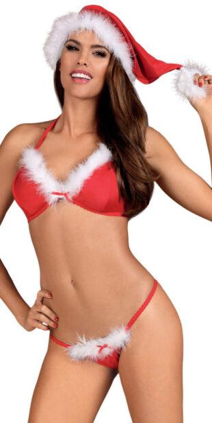 Vánoční erotický kostým Santa Lady